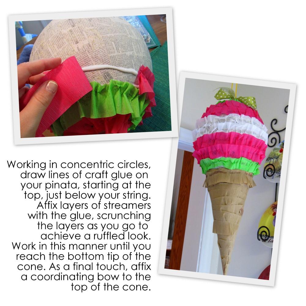 Pi ata en forma de fresa crafts co - Como se hace una vidriera ...