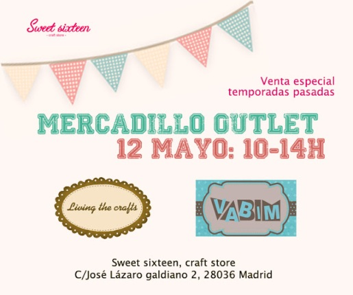 Mercadillo Vabim y Living the crafts 12 de mayo 2012